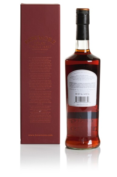 View 2. Thumbnail of Lot 296. BOWMORE 16 YEAR OLD WINE CASK MATURED 53.5 ABV 1992  .