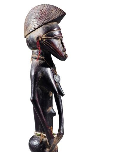 View 1. Thumbnail of Lot 27. Statue, Sénufo / Baulé, Côte d'Ivoire | Senufo/Baule figure, Côte d'Ivoire.