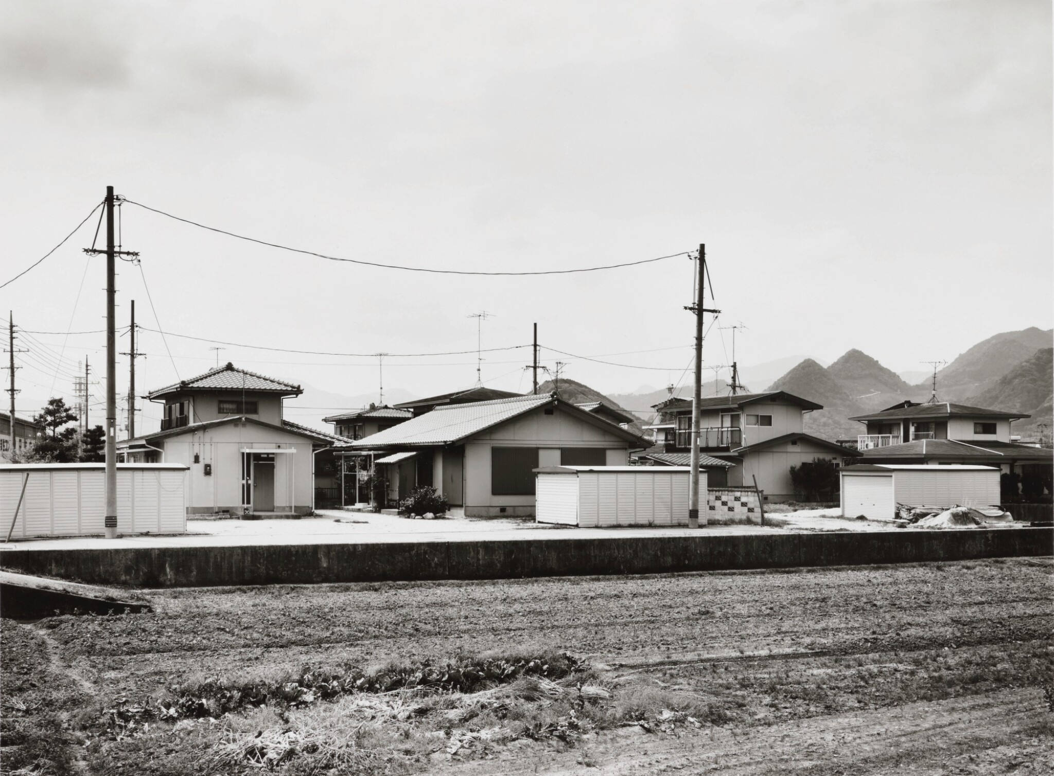 View full screen - View 1 of Lot 74. THOMAS STRUTH | 'YAMAGUCHI, LANDSCAPE WITH GARAGES'.