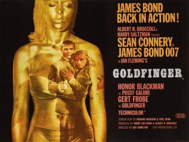 GOLDFINGER (1964) POSTER, BRITISH