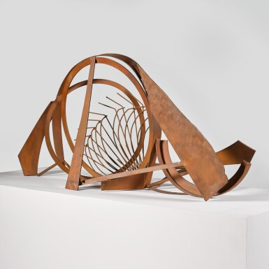 View 5. Thumbnail of Lot 740. SIR ANTHONY CARO, R.A.   TABLE PIECE CCCXLI.
