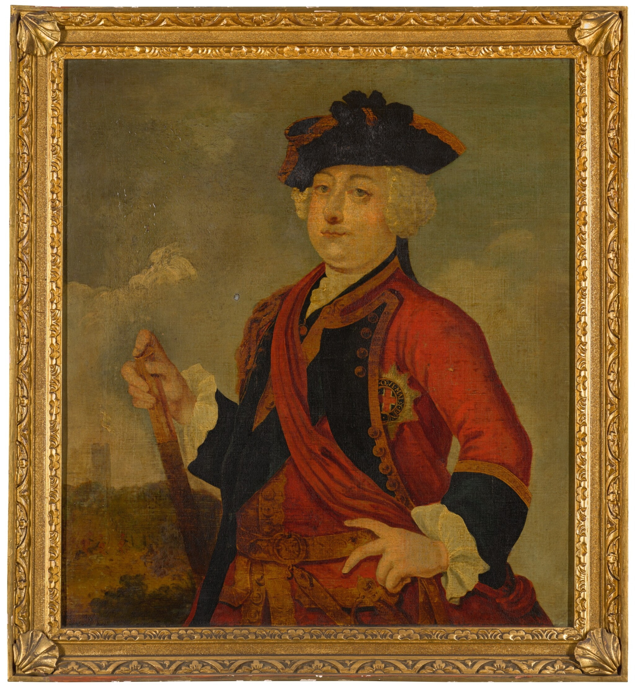View full screen - View 1 of Lot 225. AFTER GERHARD BOCKMAN | Portrait of Prince William Augustus, Duke of Cumberland (1721-1765).