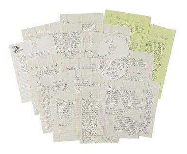 TUPAC SHAKUR | An archive of 22 love letters from Shakur to a high school sweetheart, 1987-88
