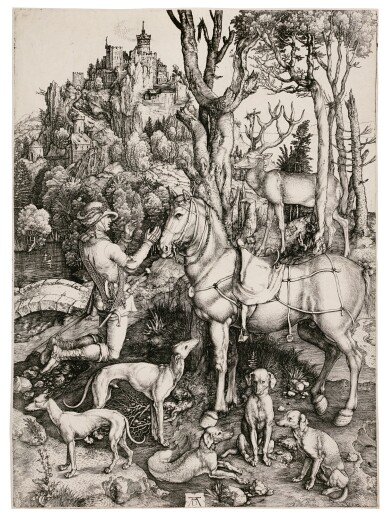 Saint Eustace (B. 57; M., Holl. 60)