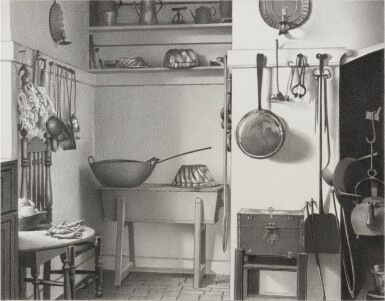 View 1. Thumbnail of Lot 7. Kitchen of Governor's Palace, Williamsburg, Va..