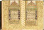 AN ILLUMINATED QUR'AN, COPIED BY HUSAYN AL-WAHBI, ILLUMINATED BY ISMA'IL AL-ZUHDI, TURKEY, OTTOMAN, DATED 1283 AH/1866-67 AD