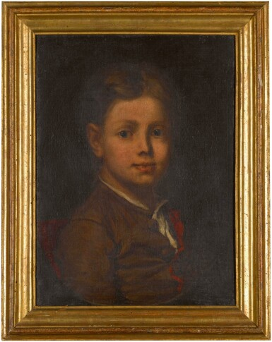 View 2. Thumbnail of Lot 126. Portrait of a child.