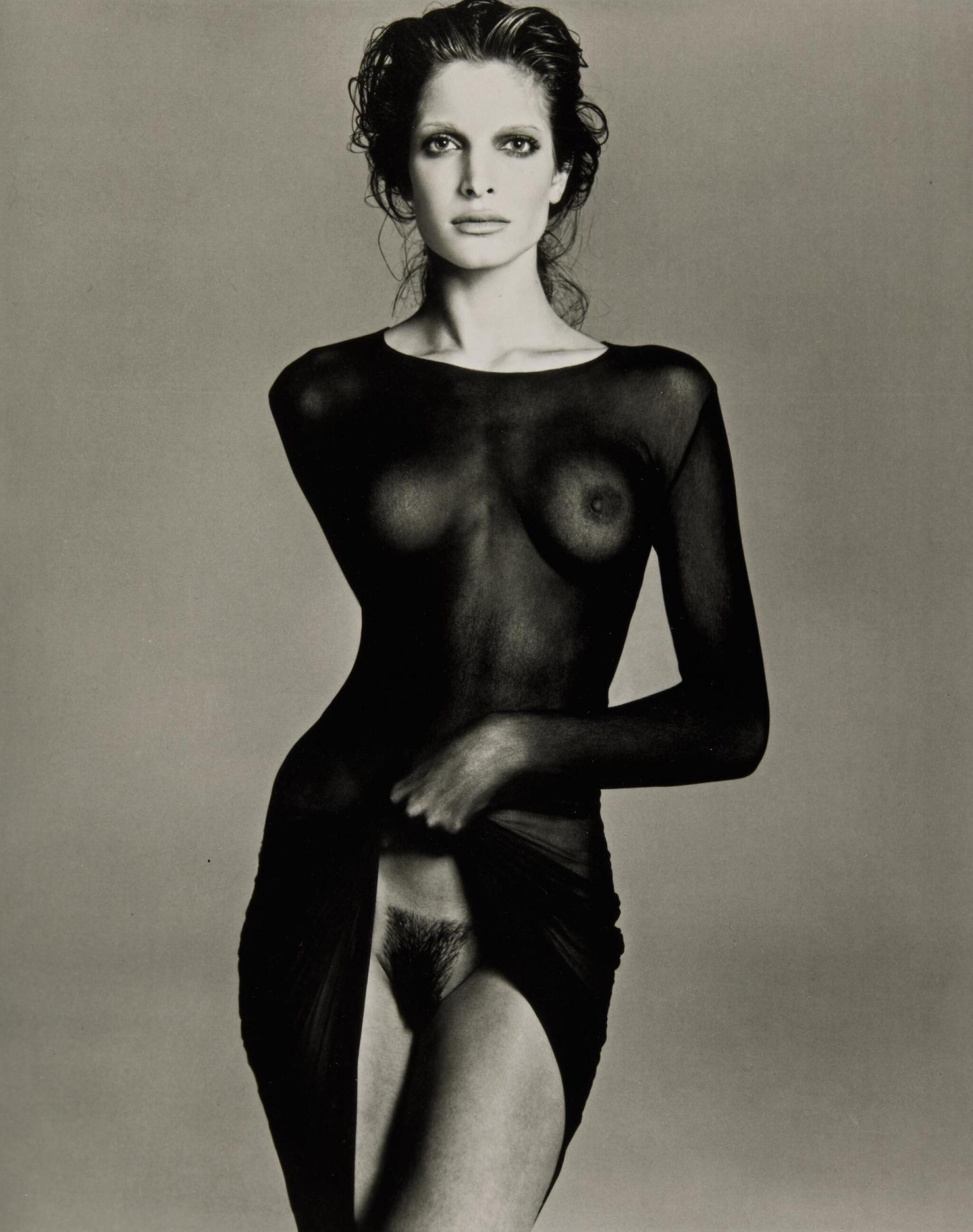 View full screen - View 1 of Lot 24. RICHARD AVEDON | 'STEPHANIE SEYMOUR, MODEL', NEW YORK CITY, 1992.