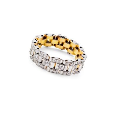 "Diamond bracelet [Bracelet diamants], ""Tank"""