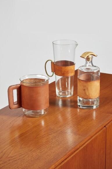 View 3. Thumbnail of Lot 3. Glassware Set.