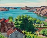 Paysage à Hesnes, Norvège