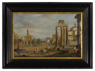 View 3. Thumbnail of Lot 102. Rome, a view of Campo Vaccino.