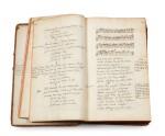 TALLEMANT DES RÉAUX, Gédéon. [Vaudeville]. Manuscrit inconnu, en partie autographe, de pièces en vers