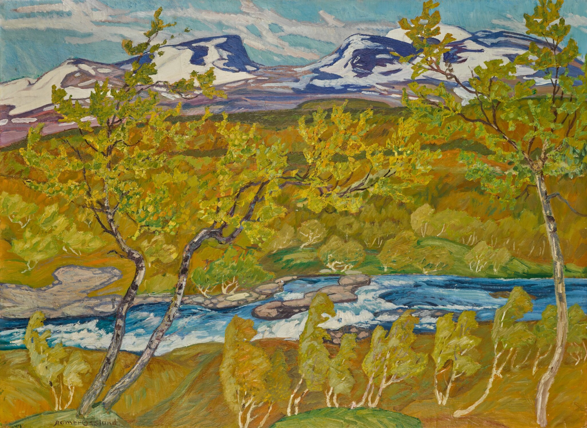 View 1 of Lot 6. The Lapporten Valley, Lapland.