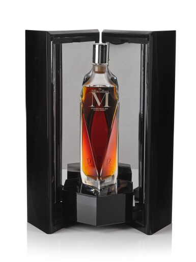 View 2. Thumbnail of Lot 24. The Macallan M Decanter 2013 Edition 1824 Series 44.5 abv NV .