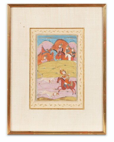 View 2. Thumbnail of Lot 67. INDIA AND CENTRAL ASIA, 17TH-19TH CENTURIES | THREE MINIATURES.