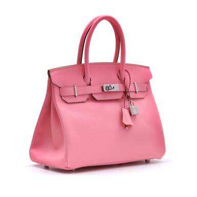 View 2. Thumbnail of Lot 302. Rose Confetti Birkin 30cm in Epsom Leather with Palladium Hardware, 2020.