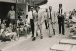 TERRY O'NEILL   FRANK SINATRA WALKING ON THE BOARDWALK, MIAMI, 1968