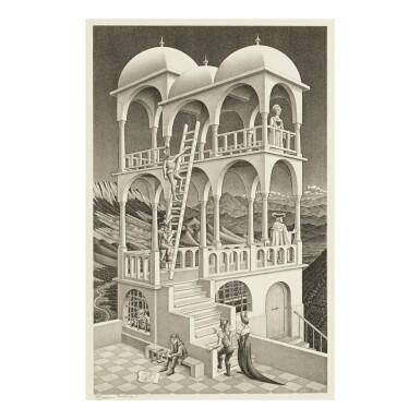M. C. ESCHER | BELVEDERE (B./K./L./W. 426)