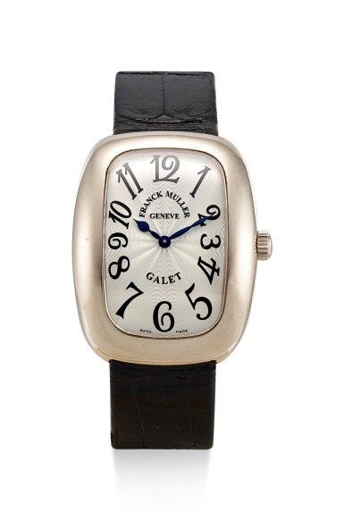 View 1. Thumbnail of Lot 8268. FRANK MULLER | MASTERS OF COMPLICATIONS, REFERENCE 3002 M QZ V, A WHITE GOLD WRISTWATCH, CIRCA 2010.