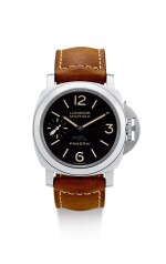 PANERAI | LUMINOR MARINA LAS VEGAS, REF PAM00464, A LIMITED EDITION STAINLESS STEEL WRISTWATCH WITH FINELY ENGRAVED CASE, CIRCA 2012