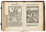 Geoffrey of Monmouth, Methodius, Tiraqueau, Grapaldus, Paris, 1507-1517, English stamped calf