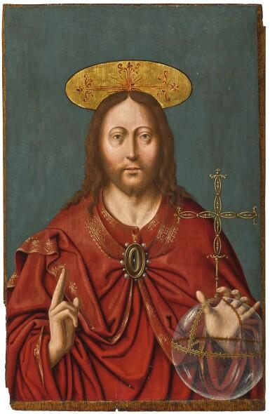 CIRCLE OF JOOS VAN CLEVE   Salvator Mundi