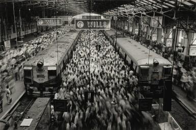 View 1. Thumbnail of Lot 111. Churchgate Station, Western Railroad Line, Bombay, India.