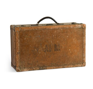 View 3. Thumbnail of Lot 46. A French leather travelling case by Goyard of Paris, early 20th century.