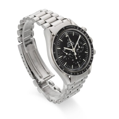 View 3. Thumbnail of Lot 706. REFERENCE ST 145.022, SPEEDMASTER STAINLESS STEEL CHRONOGRAPH WRISTWATCH CIRCA 1983.