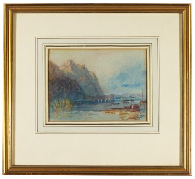 AFTER JOSEPH MALLORD WILLIAM TURNER | Champtoceaux from the East, River Loire, France