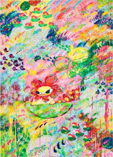 View 1. Thumbnail of Lot 149. Ayako Rokkaku 六角彩子 | Untitled 無題.
