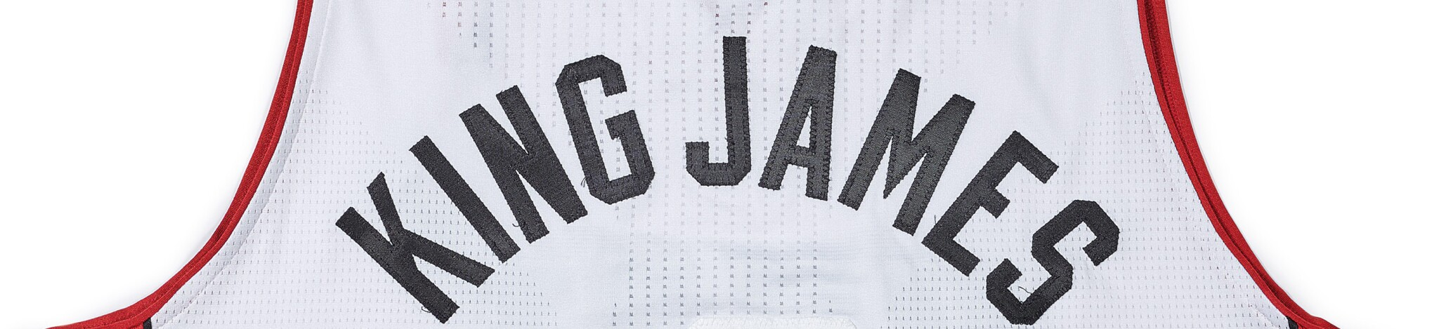 "From The Archive | Day 1 | LeBron James Game Worn ""King James"" Jersey"