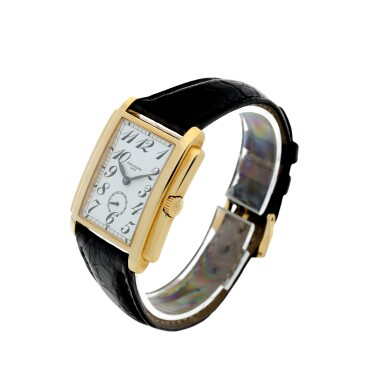 View 2. Thumbnail of Lot 159. PATEK PHILIPPE | REFERENCE 5024 GONDOLO A YELLOW GOLD RECTANGULAR WRISTWATCH, MADE IN 1994.