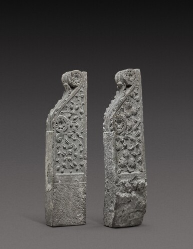 View 2. Thumbnail of Lot 128. Italian, Tuscany, 16th century | Pair of Architectural Brackets.