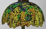 "TIFFANY STUDIOS   ""LABURNUM"" FLOOR LAMP"