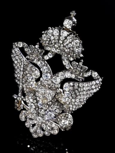 View 11. Thumbnail of Lot 166. Important diamond brooch, late 19th century | 鑽石別針,十九世紀末.
