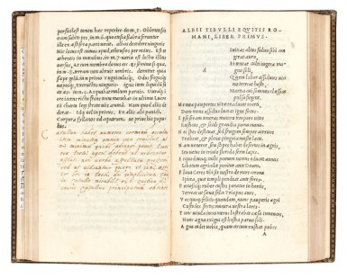 View 3. Thumbnail of Lot 87. Catullus, Opera, Venice, Aldus, 1502, morocco by Storr of Grantham, Syston Park copy.