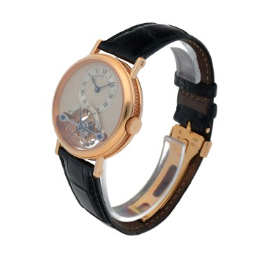 View 2. Thumbnail of Lot 444. Classique, Ref. 3350BR/12/286 Pink gold tourbillon wristwatch Made in 1996 | 寶璣 3350BR/12/286型號「Classique」粉紅金陀飛輪腕錶,1996年製.