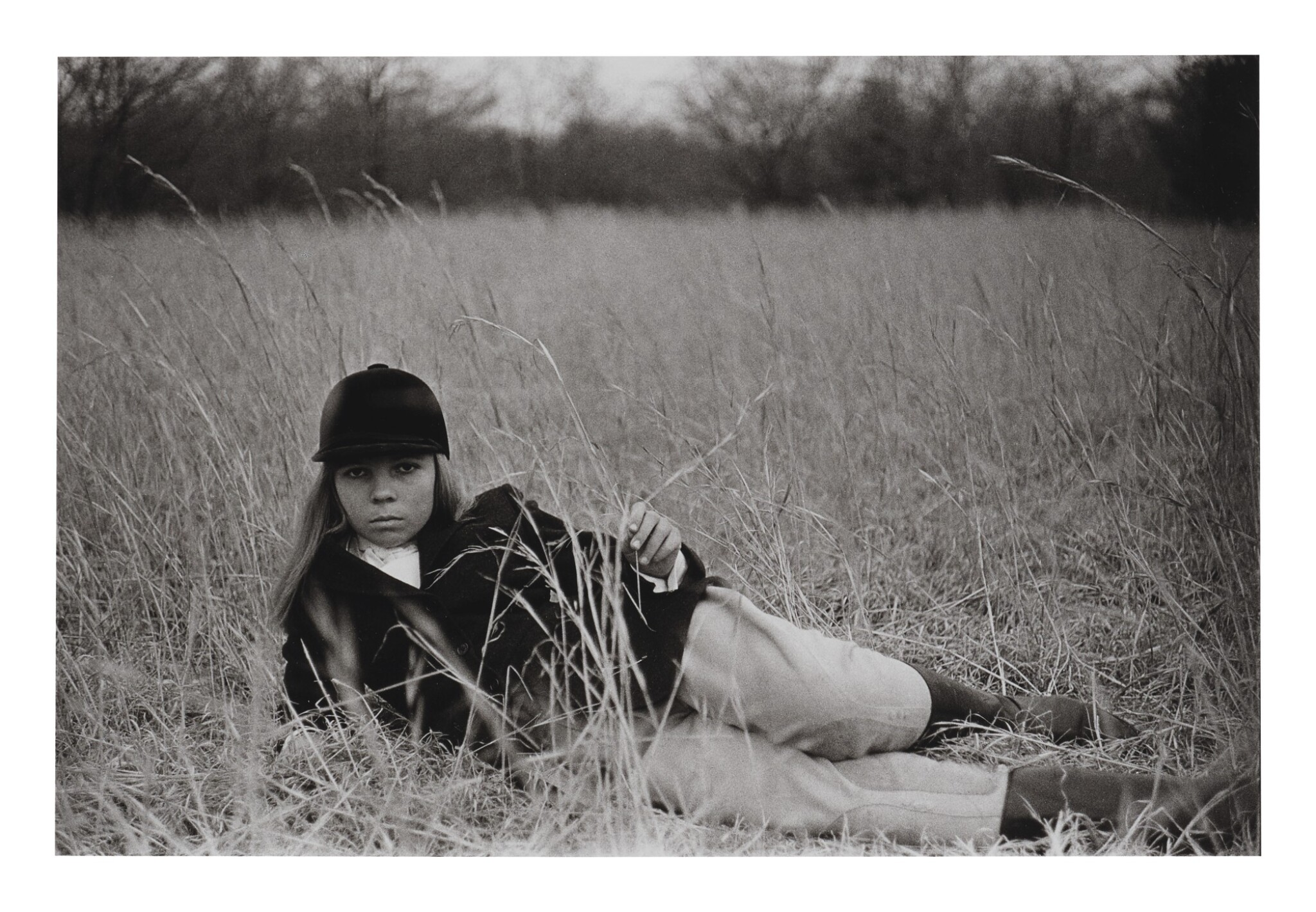 View full screen - View 1 of Lot 101. DIANE ARBUS | PENELOPE TREE IN THE GRASS.