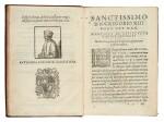 Azpilcueta, Commentarius de alienatione, Rome, 1584, contemporary morocco with arms of Cardinal Boncompagni