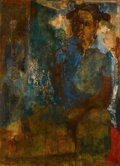 View 1. Thumbnail of Lot 54. Portrait d'Anna.