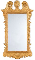 A GEORGE I GILTWOOD MIRROR, EARLY 18TH CENTURY