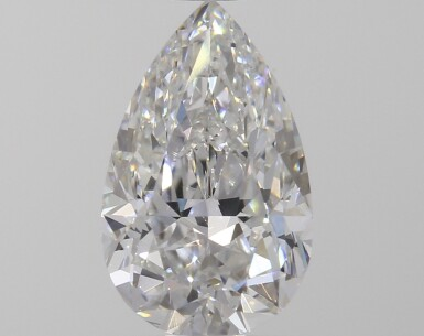 A 1.06 Carat Pear-Shaped Diamond, D Color, VVS2 Clarity