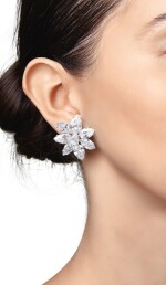 PAIR OF DIAMOND EARCLIPS | 鑽石耳環一對