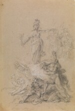 JOHAN JOSEPH ZOFFANY, R.A. | AN ALLEGORY OF MORAL FORTITUDE