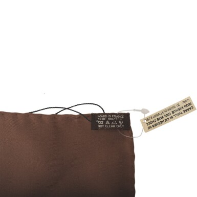 """Hermès """"Madison Avenue"""" Silk Twill Scarf 90cm"""