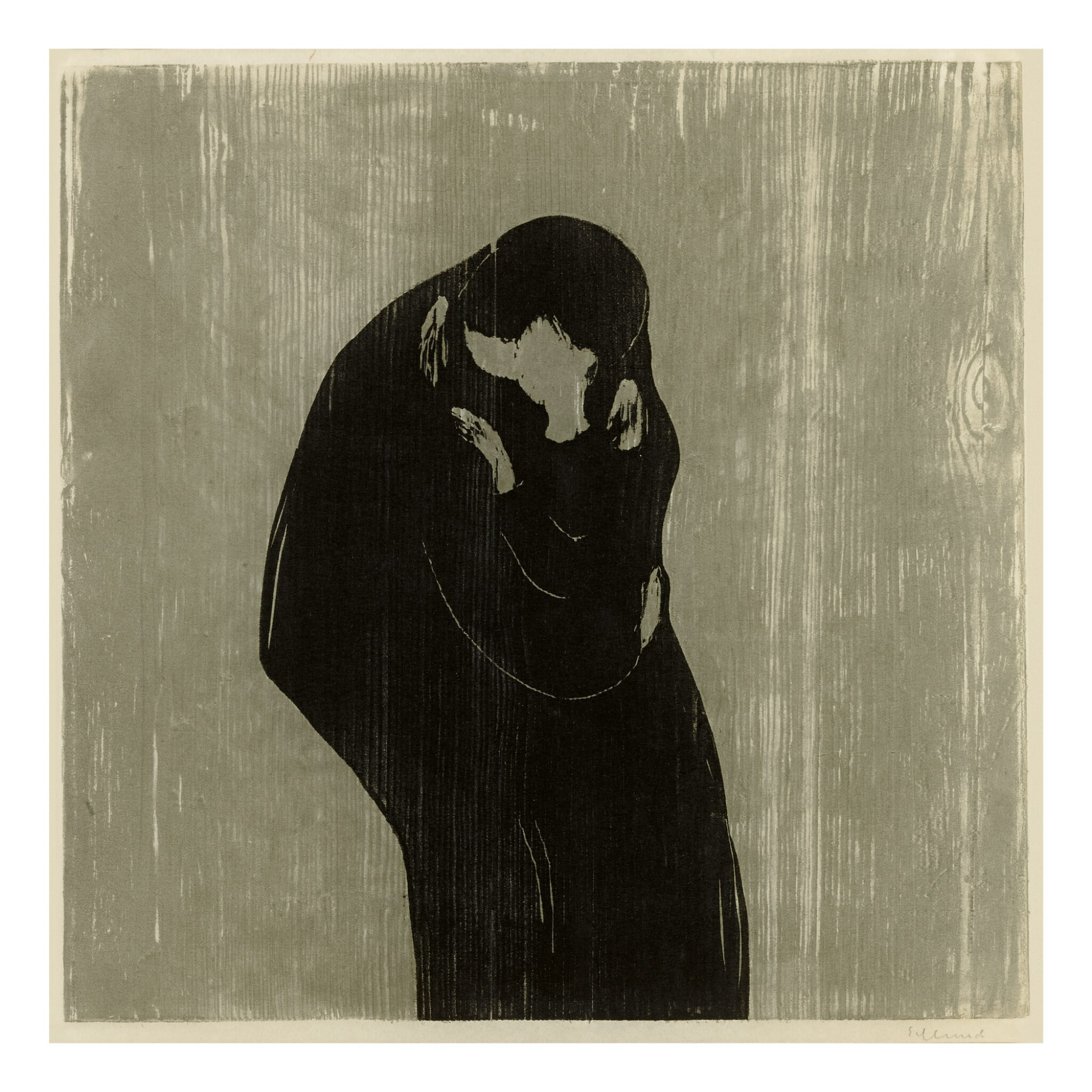 View full screen - View 1 of Lot 10. EDVARD MUNCH   THE KISS IV (SCH. 102; W. 204).