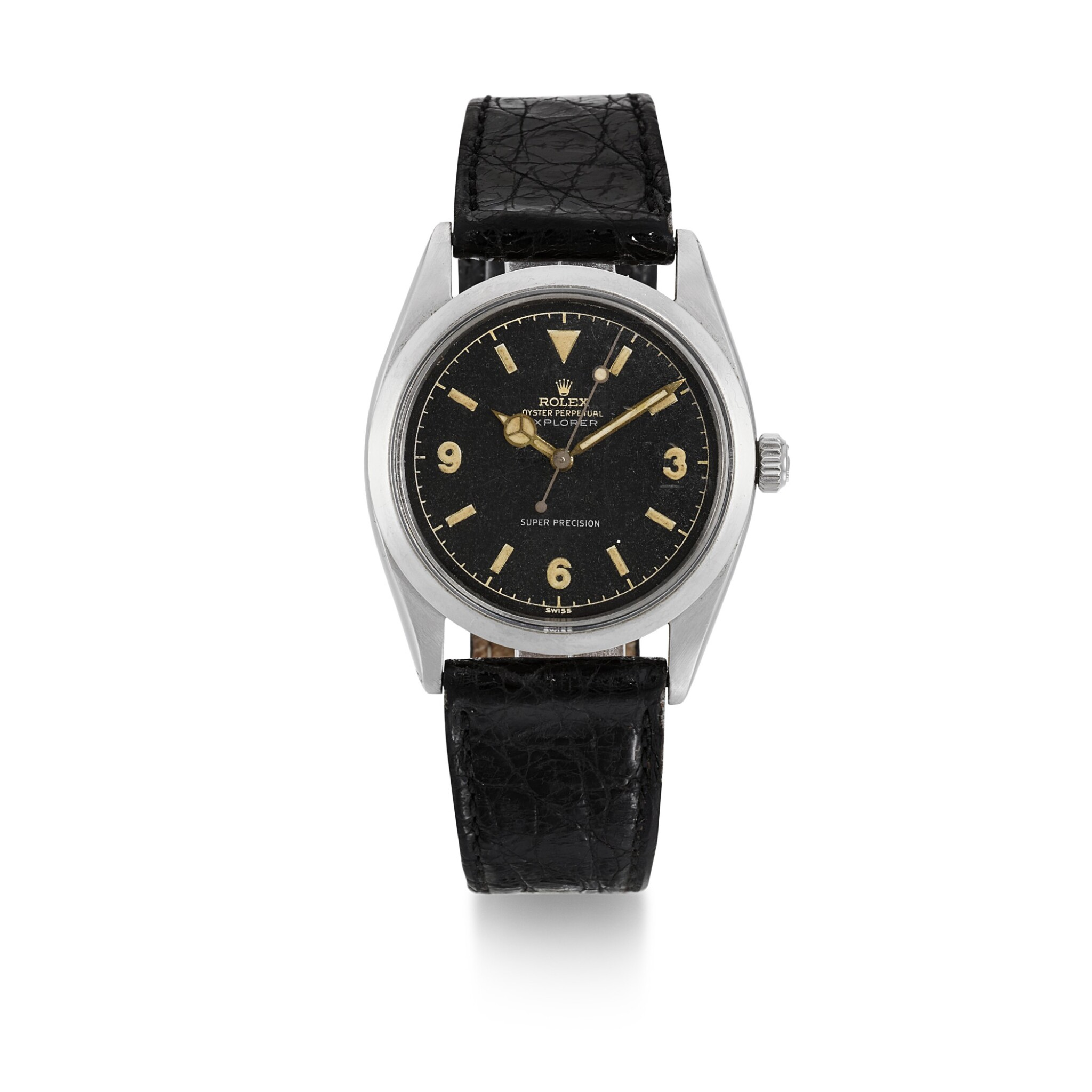 View full screen - View 1 of Lot 456. ROLEX | EXPLORER, REF 5504  STAINLESS STEEL WRISTWATCH  CIRCA 1960.