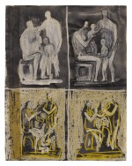 HENRY MOORE | FOUR FAMILY GROUPS